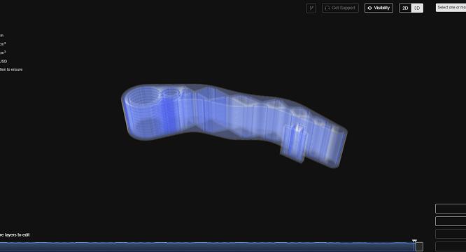3Dプリンター-オニキス+ファイバー8