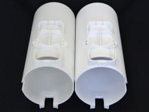 3Dプリンター出力品エポキシ白塗装