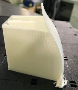 3Dプリンター出力 支え